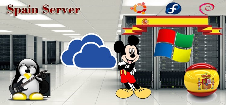Cloud Spain VPS Hosting