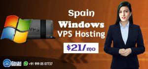 Spain Windows VPS Hosting