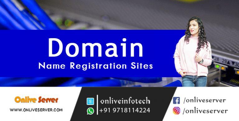 Best Domain Name registration Online From Onlive Server