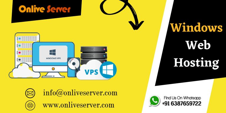 Get Windows Web Hosting With Online Servers With The Right Choice